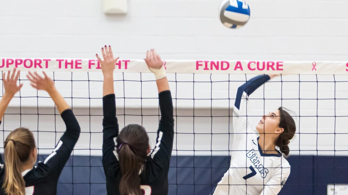 Women's Volleyball Concludes Campaign With Loss at Mount Saint Vincent