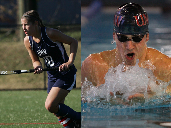 Charney, Anderson Claim First-Ever UMW Athlete of the Year Awards