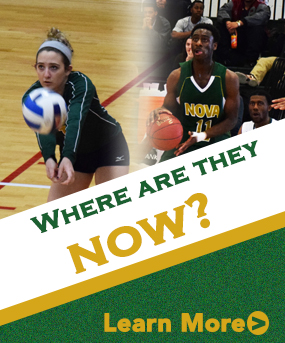 Where have former Nighthawks continued their intercollegiate athletic careers