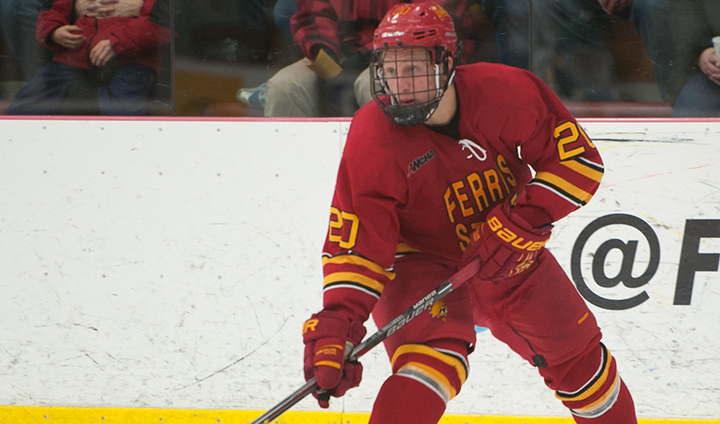 Ferris State Sweeps Northern Michigan, Advances to WCHA Final Five