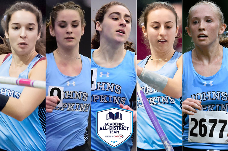 JHU Collects Five Women's Cross Country/Track & Field Academic All-District Honors