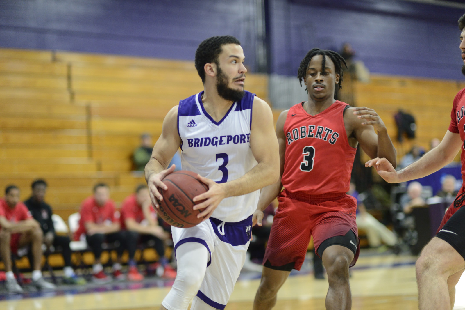 Floyd Preito Nets UB Record 55 Points In Purple Knights' 144-76 Senior Night Win Over LIU Post
