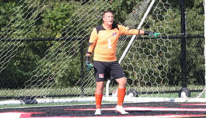 Men's Soccer earns Coach Ponder his first career win