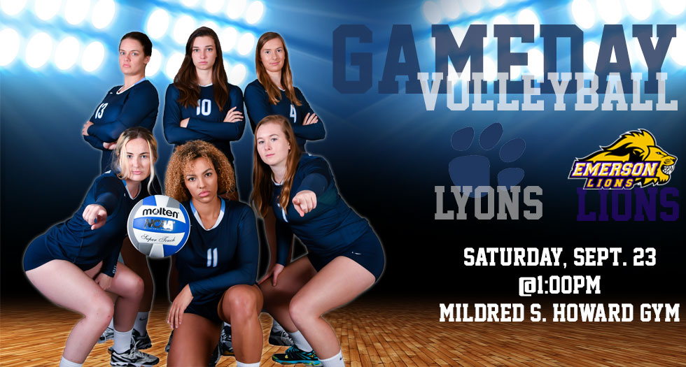 Volleyball Gameday Graphic