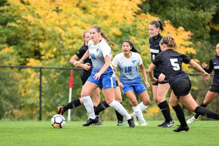 Hannah Knoll's 67th minute goal made the difference in Tuesday's contest (Julia Monaco).