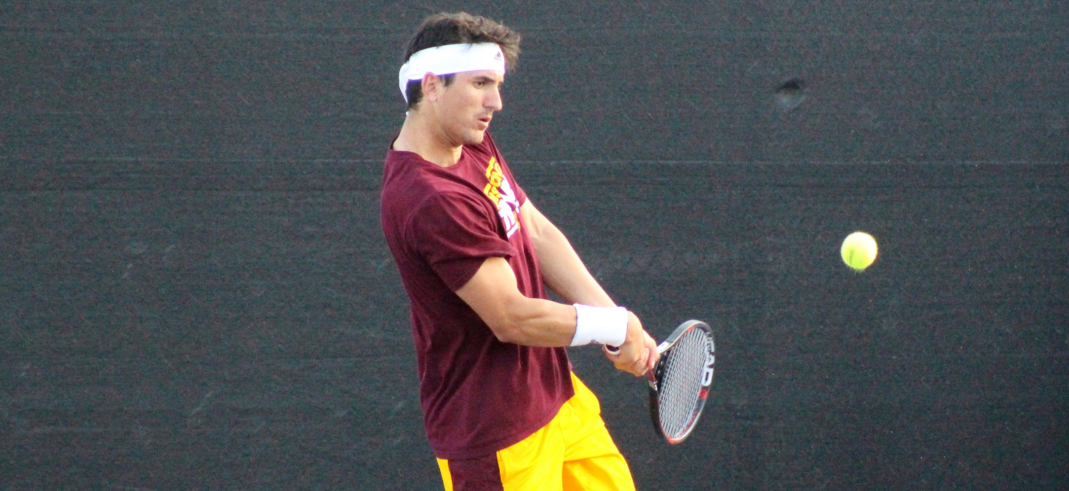 No. 8 Lynn Downs No. 3 Armstrong State Men's Tennis, 5-1