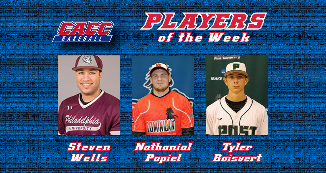POPIEL TABBED CACC PITCHER OF THE WEEK
