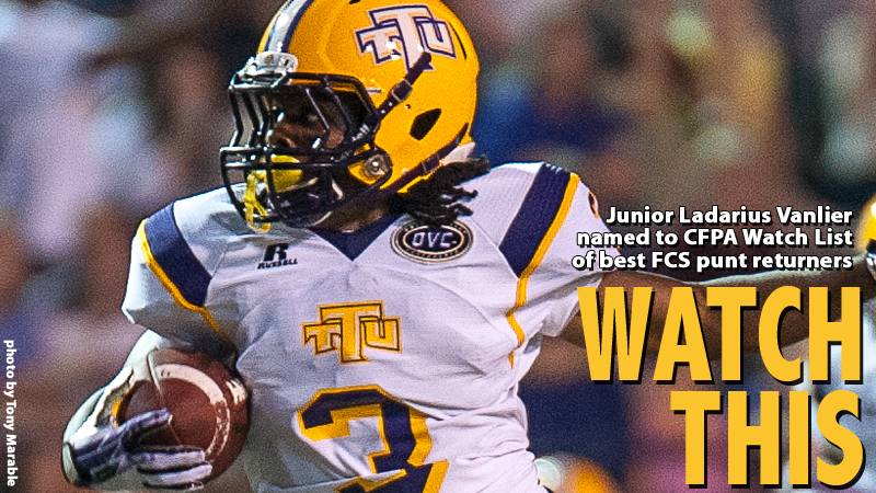 Vanlier named to CFPA preseason Watch List of top FCS returnees