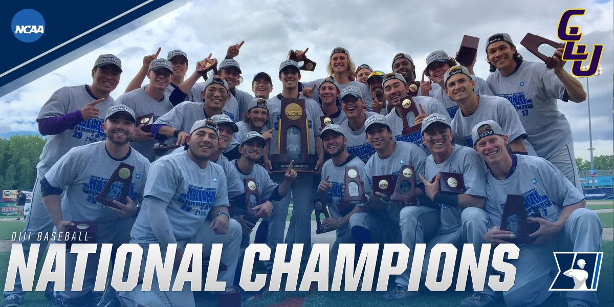 Cal Lutheran Crowned Baseball National Champions