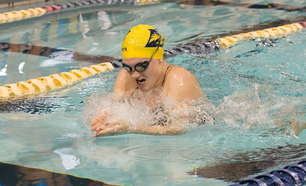 Emory Women's Swimming & Diving Sweeps Tri-Meet with Delta State, West Florida