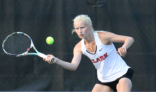 Women's Tennis Bested By Rhode Island College, 7-2