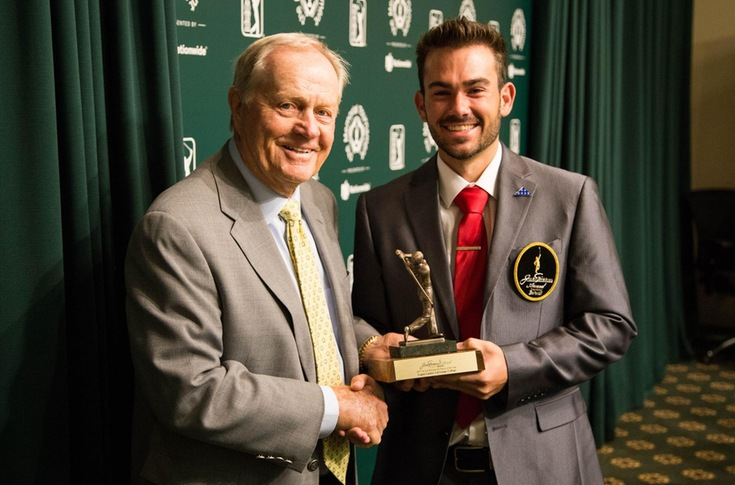 Golf: Logan Lanier presented Jack Nicklaus Award Division III Player of the Year