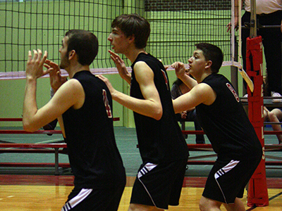 Men's Volleyball Swept In Season-Ending Matches