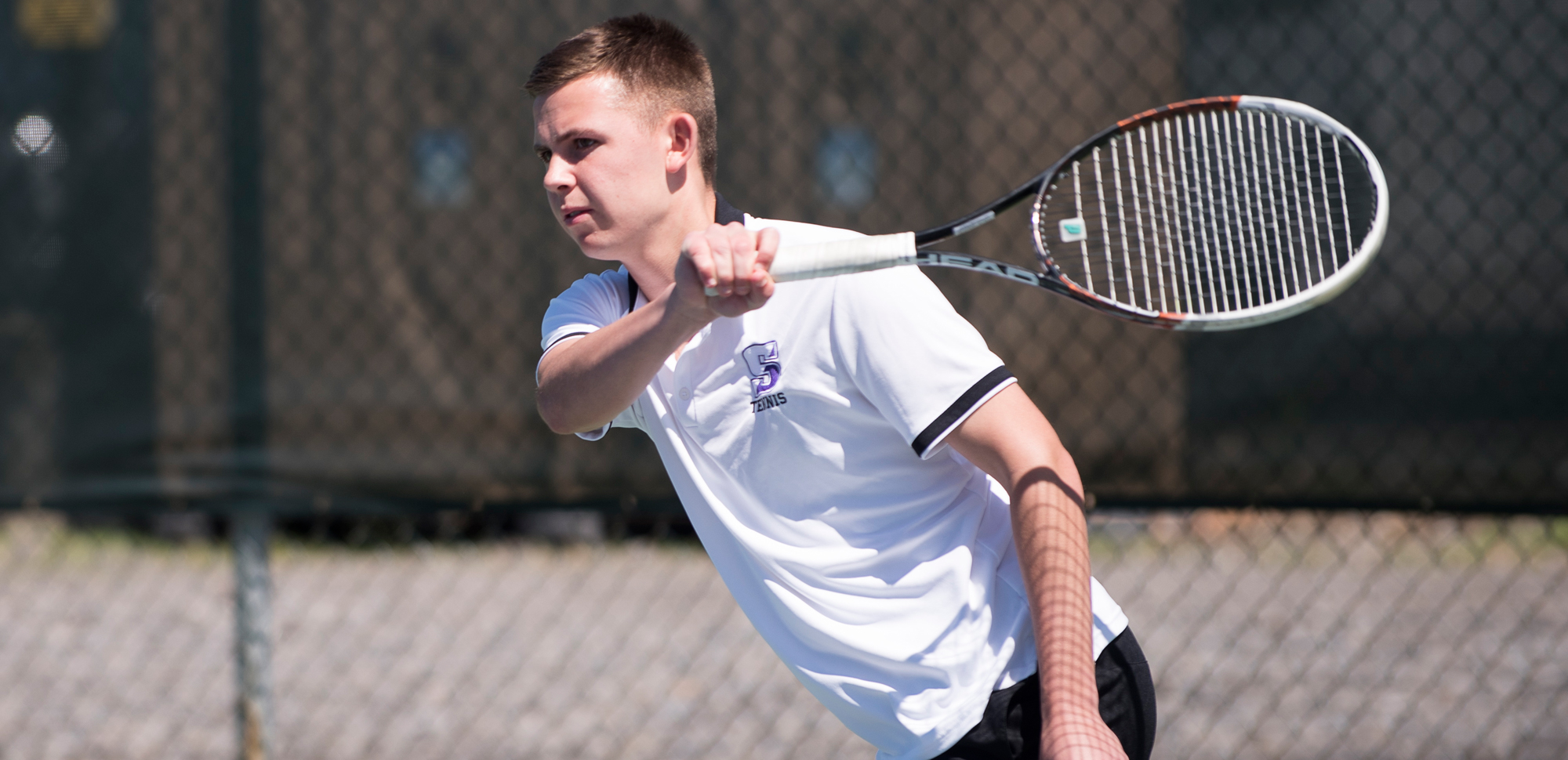 Junior Alexander Ochalski won at both doubles and singles, as the University of Scranton men's tennis team opened their 2017-18 season with a 9-0 win at Marywood on Monday.