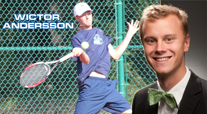 GC Tennis' Wictor Andersson Tabbed GC Athlete of the Week