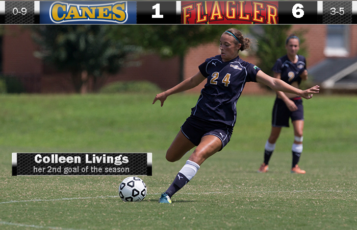 Colleen Livings Scores Her 2nd Collegiate Career Goal