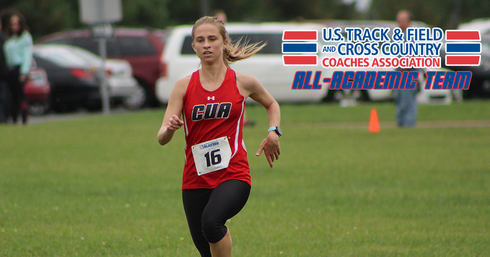 Lyons Leads Catholic to USTFCCCA All-Academic Team Honors