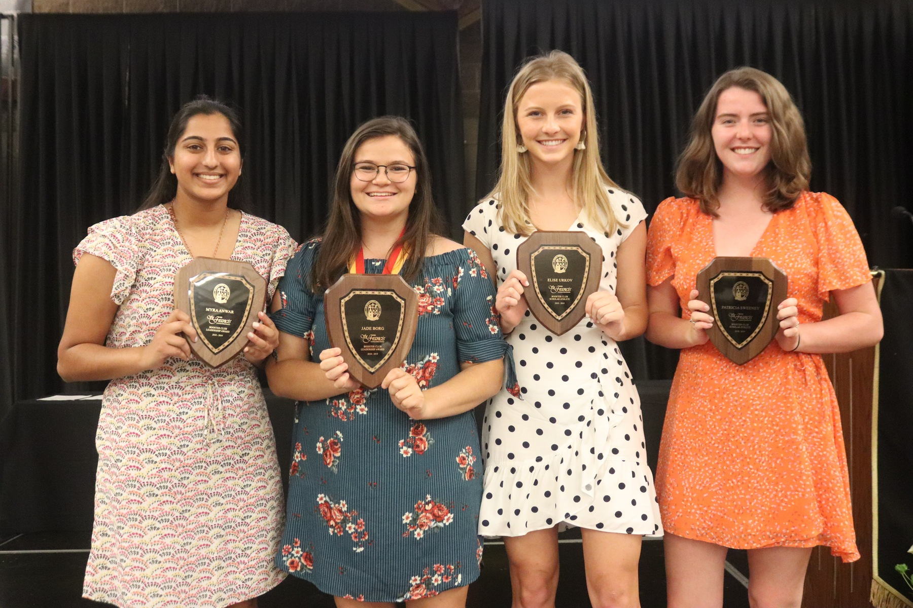 Student-Athletes Recognized as Booster Club Announces Annual Awards