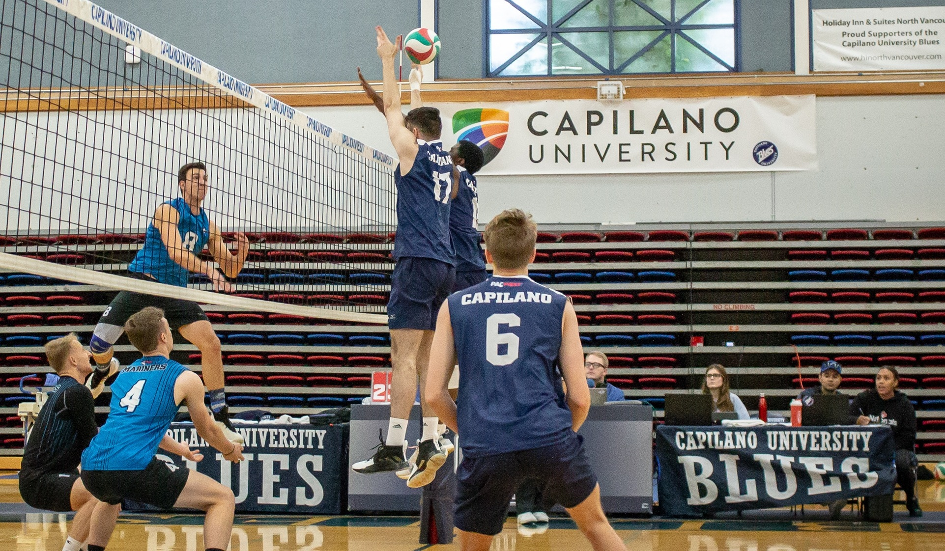 Blues Open Strong But Unable to Handle VIU