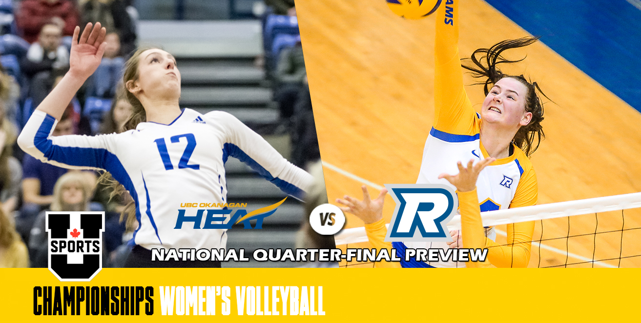 PREVIEW:  National Quarter-final in Laval. Heat take on Ryerson