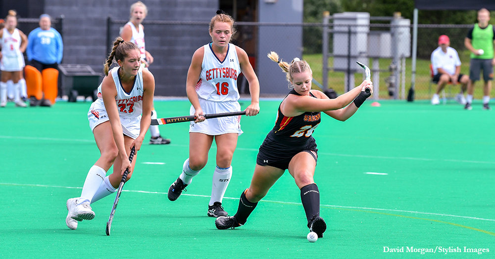 Field Hockey Falls Late at F&M