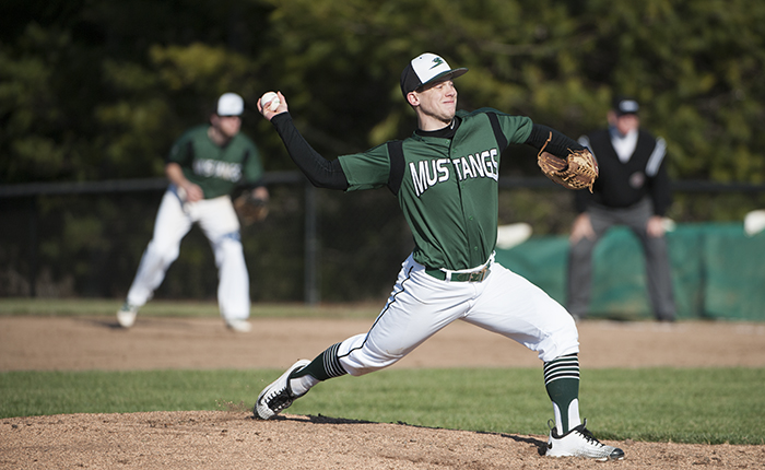 Baseball Sweeps Twinbill From Penn State Abington