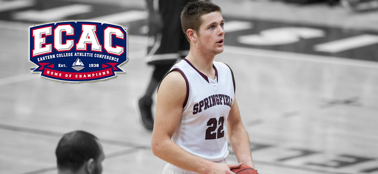 Ross Chosen as ECAC New England Men's Basketball Rookie of the Week