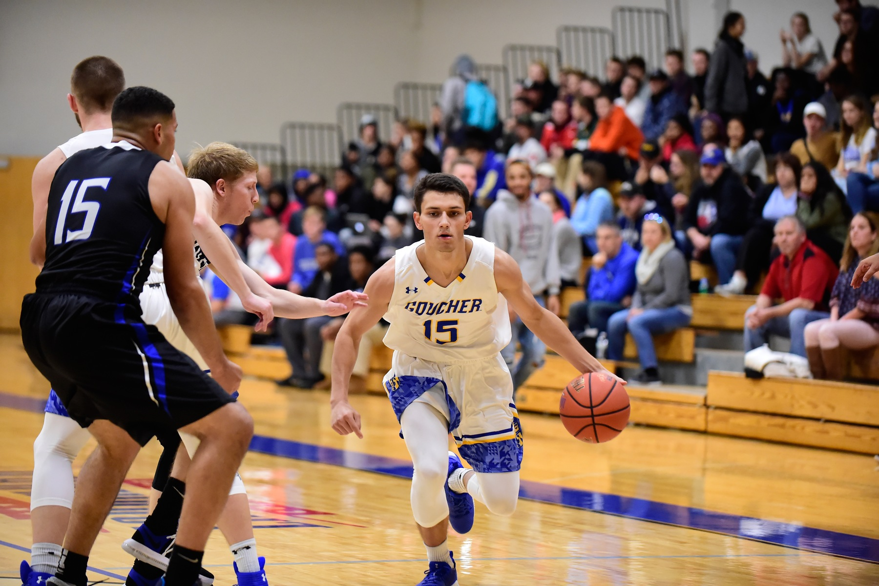 Men's Basketball Defeated By Scranton in Landmark Conference Opener, 85-66